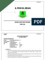 Laporan Akademik Panitia Mata Pelajaran Hem Dan Kokurukulum 2016 Sk Punan Ba