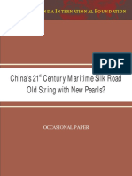 Suri_China's 21st Century Maritime Silk Road Old String With New Pearls