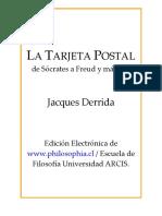 DERRIDA - El cartero de la verdad.pdf