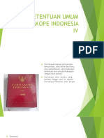 Ketentuan Umum Farmakope Indonesia IV
