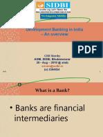 My Prez on Dev Banking