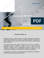 Sectiune impozite _prezentare