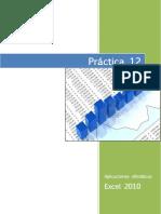 PRÁCTICA_12 Ordenar Datos en Excel