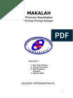 MAKALAH PROMKES