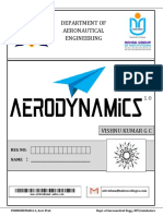Aerodynamics Front Page