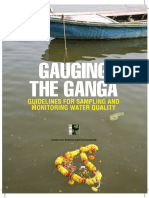 Ganga Monitoring Plan