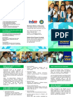 Adopt a School Program Brochure