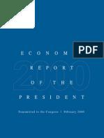 2000 Economic Report of The President