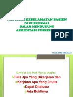6. Program Keselamatan Pasien Di Puskesmas (Fajeri)