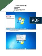 Manual de Usuario SAP