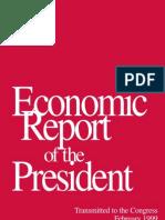1999 Economic Report of The President