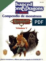 AD&D - [Ravenloft] Compendio de Monstruos