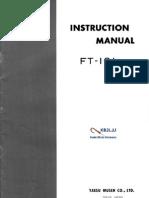 Yaesu FT-101 Instruction Manual