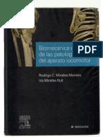 Biomecánica Clínica de Las Patologías Del Aparato Locomotor (MIRALLES)