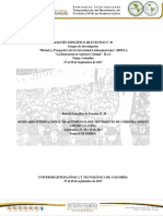 BOLETÍN- Seminario Internacional. Reforma de Córdoba 1918. TUNJA
