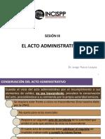 El Acto Administrativo II