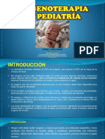 Oxigenoterapia en Pediatria 2018