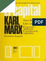 Karl Marx - El Capital - Tomo III - Volumen 7