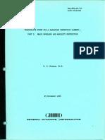 Convair - GDA-ERR-AN-711 - Feasibility Study for a Radiation Protection Garment -- Part I