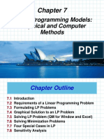 Chap 07 LP Models Graphical and Computer Methods Soan