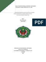 LAPORAN HARIAN Apotek Sindanglaya (Eko Febryandi 3351161504)