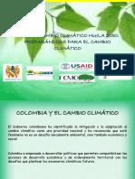 Diapositivas Plan de Cambio Climático Huila 2050