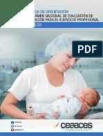 Guia Metodologica de Orientacion Enfermeria Marzo 2018