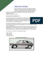 Historia Honda Civic 1970