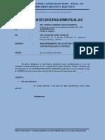 Informe 027- Mantenimiento Pc Oleohidraulica