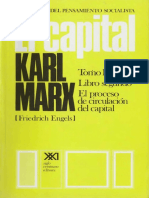 Karl Marx - El Capital - Tomo II - Volumen 5