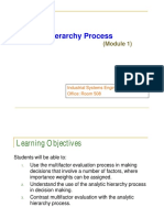 [Qm] Module 01 - Analytic Hierarchy Process [Ahp]