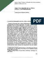 Massini Carlos-Santo Tomas Desafio Etica Analitica Contemporanea Escolastica 1990