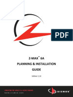 Z-MAX 6A Planning and Installation Guide - Ed1.13