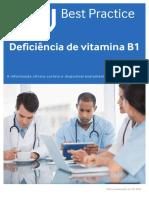 Deficiência de Vitamina B1