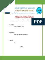 Proceso Industrial de La Producción de Atún