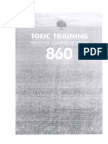 TOEIC 860 Training Reading Comprehension