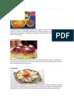 Comida Tipicas de Guatemala