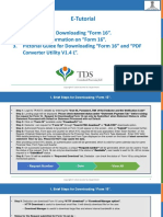 E-Tutorial -Download Form 16