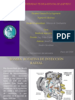 Bomba Rotativa de Inyección Radial