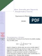 Matemáticas Avanzadas Para Ingeniería_ Transformada Z Inversa Victor Tm3