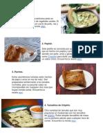 Comida y Manualidad Guate