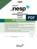 Unesp2017 Caderno 2fase Ci Humanas
