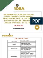 Presentac CMC Tauro 2014
