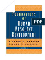 Texto 2 - Swanson - Foundations of Human Resource Development 2009 - Cap 2