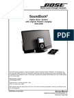BOSE Sounddock Service Manual