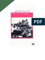 Novalis - Himnos a La Noche Y Canticos Espirituales