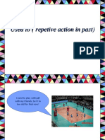 Used to ( Repetive Action in Past)