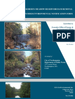 14-005 Upper Roberts Meadow Dam EENF MEPA Filing