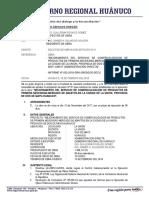 Informe Nº ... - Ampliacion de Plazo Nº 01