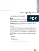 First-Line Drugs for Hypertension